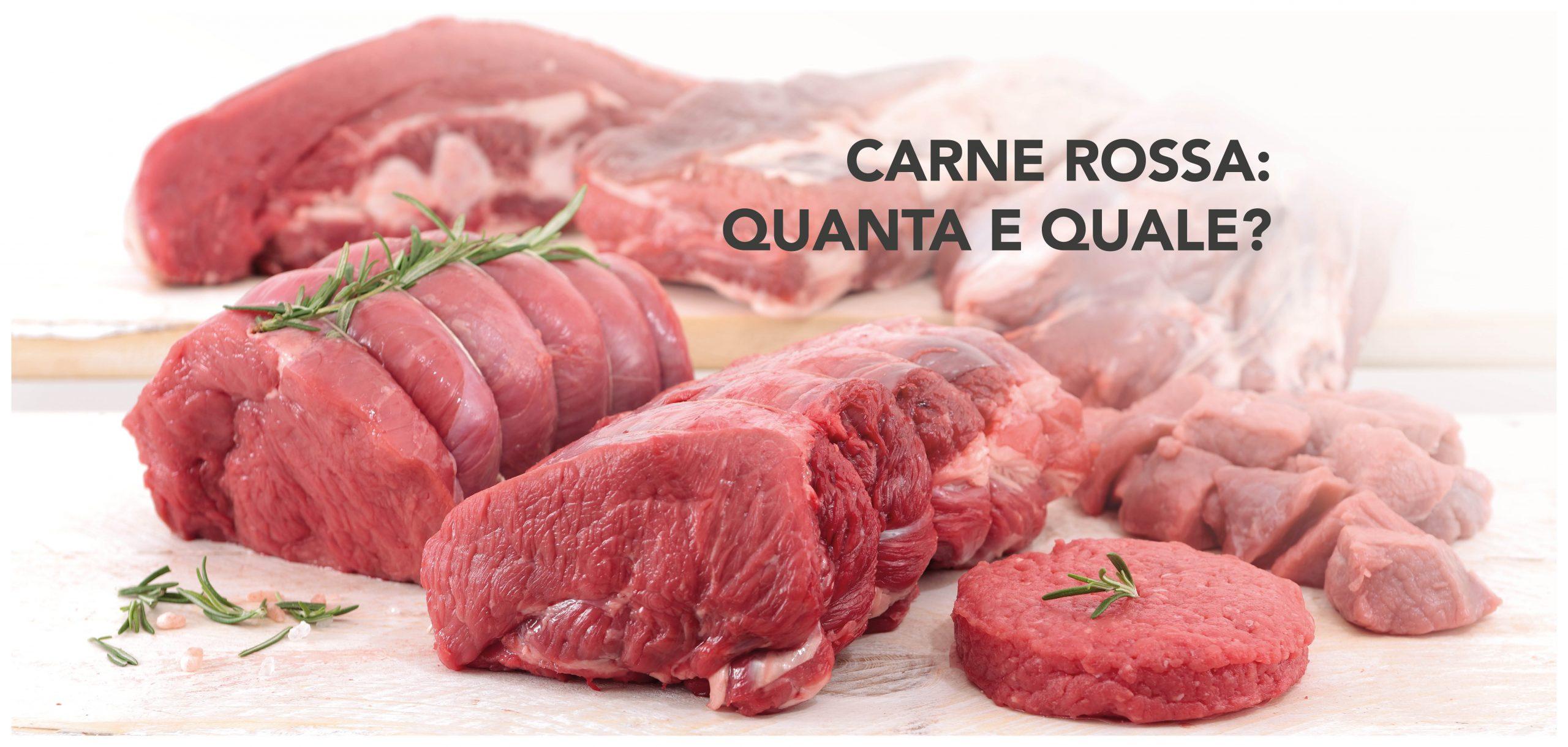 Carne rossa: quanta e quale?